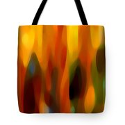 Forest Sunlight Horizontal Tote Bag