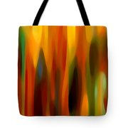 Forest Sunlight Vertical Tote Bag