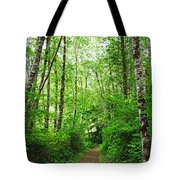 Forest Trail To Follow Tote Bag