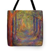 Forest Tunnel Tote Bag