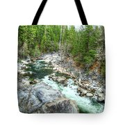 Forest Vein Tote Bag