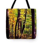 Forest Waves Tote Bag