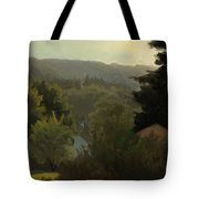 Forested Hills Tote Bag