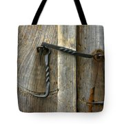 Forged Locks Tote Bag