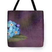 Forget Me Not 02 - S0304bt02b Tote Bag