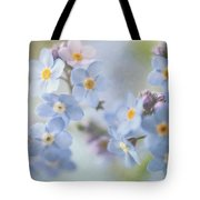 Forget Me Nots Tote Bag