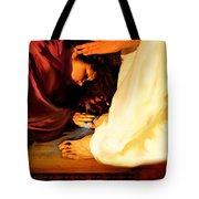 Forgiven Tote Bag by Jennifer Page