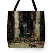 Forgotten Courtyard Tote Bag