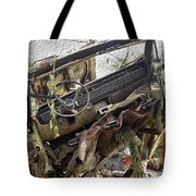 Forgotten Dash Tote Bag by Crystal Harman