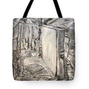 Forgotten Halls Tote Bag
