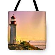Forgotten Lighthouse Tote Bag by Eti Reid