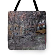 Forgotten Schoolbus Illinois Bend North Texas Tote Bag