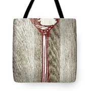 Fork And Spoon On Wood II Tote Bag