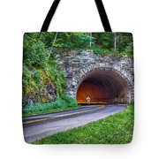 Fork Mountain Tunnel Tote Bag