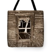 Forlorn Window Tote Bag