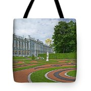 Formal Garden In Front Of The Palace Tote Bag