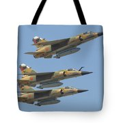 Formation Of Royal Moroccan Air Force Tote Bag