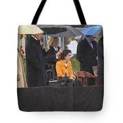 Former Us President Bill Clinton Tote Bag