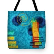 Formes 02b Tote Bag by Variance Collections