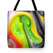 Forms And Colors Tote Bag by Riad Belhimer