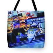 Formula 1 Race Tote Bag by Hanne Lore Koehler