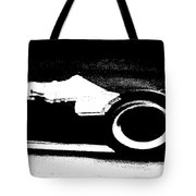 Formula 1 Racer In Action Tote Bag