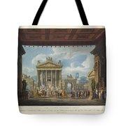 Foro Di Pompei Festivamente Adorno Tote Bag
