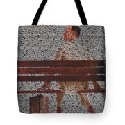 Forrest Gump Quotes Mosaic Tote Bag