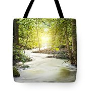 Forrest Stream Tote Bag