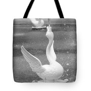 Forsyth Park Fountain - Black And White 3 2x3 Tote Bag