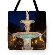 Forsyth Park Fountain Savannah Georgia Tote Bag