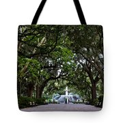 Forsyth Park Fountain Savannah Georgia  Tote Bag