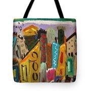 Forsythia Sky Tote Bag