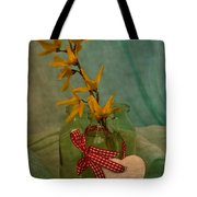 Forsythia Yellow Bells Tote Bag