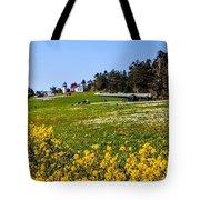 Fort Casey Spring Tote Bag