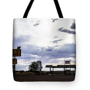 Fort Courage Trading Post Tote Bag