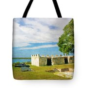 Fort Frederica Tote Bag