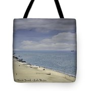 Fort Gratiot Light House Beach Tote Bag