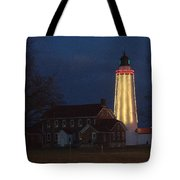 Fort Gratiot Lighthouse And Buildings Tote Bag