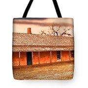 Fort Hays Winter Tote Bag