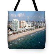 Fort Lauderdale Beach Tote Bag