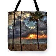 Fort Lauderdale Beach Florida - Sunrise Tote Bag