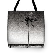 Fort Lauderdale Palm Tree Tote Bag