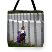 Fort Leavenworth National Cemetery Tote Bag