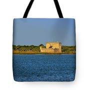 Fort Matanzas - Saint Augustine Florida Tote Bag by Christine Till