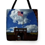 Fort Mchenry Main Gate Tote Bag