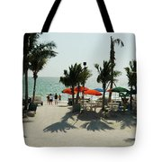 Fort Meyer's Beach Tote Bag