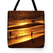 Fort Myers Beach Sunset  Tote Bag