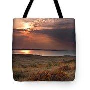 Fort Peck Lake Tote Bag
