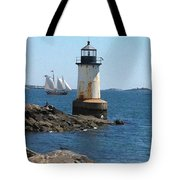 Fort Pickering Light Tote Bag